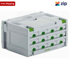 Festool SYS 3-SORT/12 Sortainer 491986 Workshop Tool Boxes & Trolleys