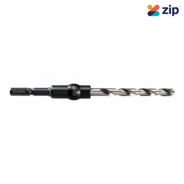 Festool HSS D 5/52 CE/M-Set 5mm Twist Drill Bit Set 493425 Centrotec Drill Bits & Accessories