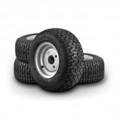 Flextool FT202509-UNIT - Tufftruk Turf Tyre Wheel Set Suit for B450E, B450G - Set of 4 Dumper Accessories