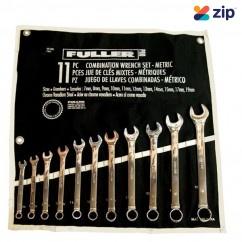 FULLER 421-1341 - 11PC  7 - 19mm Spanner Open End Combo Set Spanner
