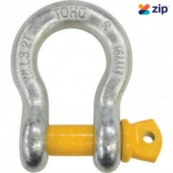 Toho GSSB16-3.2T - 16mm 3.2T Grade S Bow Shackle Lifting Equipment