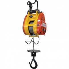 Toho TBH360 - 240V 1.6 kW Compact Wire Rope Hoist - 360kg Lifting Capacity Lifting Equipment