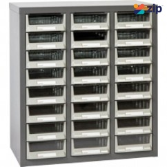 Geiger A5324 - 24 Drawer A5 Parts Cabinet Specialty Cases