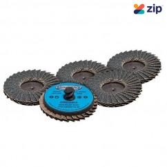 Geiger AB22012F120 - 50mm 120 Grit Quick-Lock Mini Flap Discs Air Tool Accessories