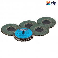 Geiger AB22013F Series - 75mm Quick-Lock Mini Flap Discs Air Tool Accessories