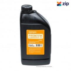 Geiger COMPOIL1 - 1 Litre Premium Compressor Oil Compressor Accessories