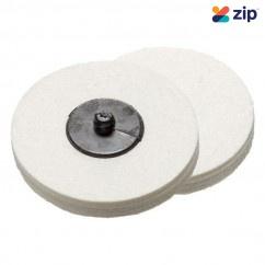 Geiger GPA1575 - 75mm Q/Change Felt Polishing Pad Air Tool Accessories
