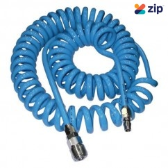 Geiger GPH1212LBHL - 8mm x 12mm 10m Length Light Blue Recoil Hose  Air Hoses & Fittings