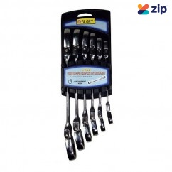 Glory HL1900-4 - 6 Piece 12 Size Metric Gear Wrench Set
