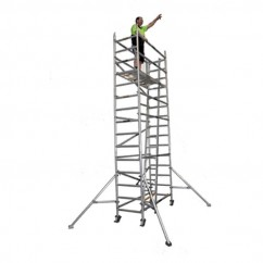 Gorilla Ladders ASL-009-I - 140kg Scaffold Ladder to suit 2 Units High 2.6m Industrial  Scaffolding