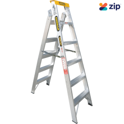 Gorilla Ladders DM006-I Dual Purpose Ladder 1800mm 150kg Rated Aluminium Step Extension Ladders