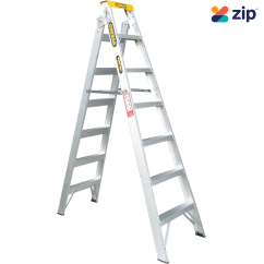 Gorilla DM007-I - 2.1-3.9m 150kg Aluminium Dual Purpose Double Sided Ladder Step Extension Ladders