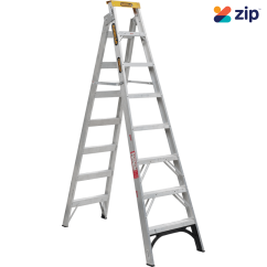 Gorilla DM008-I – 2400mm 150kg Rated Aluminium Dual Purpose Ladder Step Ladders
