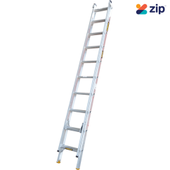 Gorilla Ladders EL10/17-I - 3.1m-5.3m 150kg Rated AluminiumExtension Ladder Extension Ladders & Single Builders