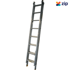 Gorilla Ladders EL8/13-I Extension Ladder 2.4m/3.9m 150kg Rated Aluminium Extension Ladders & Single Builders