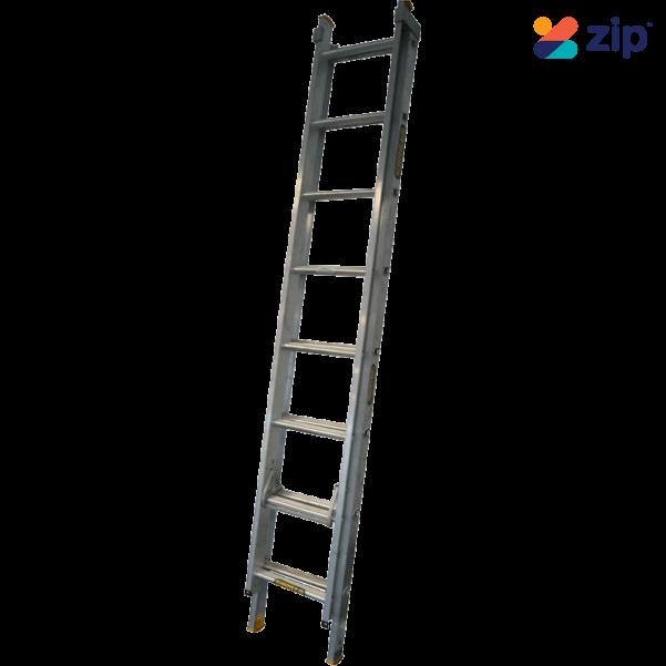 Gorilla Ladders EL8/13-IH - 2.4-3.9m 150kg Industrial Aluminium Extension Ladder  Extension Ladders & Single Builders