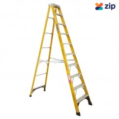 Gorilla Ladders FM010-I – 3000mm 150kg Rated Fibreglass Single Sided Ladder Step Ladders