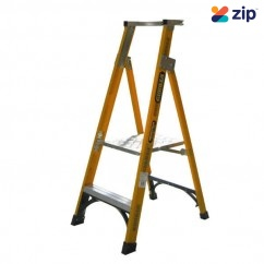 Gorilla Ladders FPL002-I Platform Ladder 600mm 150kg Rated Fibreglass Platform Ladders & Order Pickers