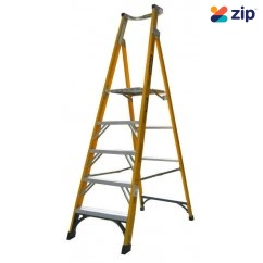 Gorilla Ladders FPL005-I Platform Ladder 1500mm 150kg Rated Fibreglass Platform Ladders & Order Pickers