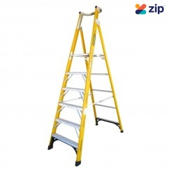 Gorilla Ladders FPL006-I Platform Ladder 1800mm 150kg Rated Fibreglass Platform Ladders & Order Pickers