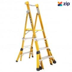Gorilla Ladders FPL0406-I - 1.2-1.5-1.8m 150kg Adjustable Platform Ladder Industrial