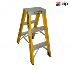 Gorilla Ladders FSM003-I Double Sided Ladder 900mm 150kg Rated Fibreglass Step Ladders
