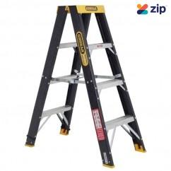Gorilla Ladders FSM004-C - 1.2m 120Kg Industrial Fibreglass Double Sided Step Ladder