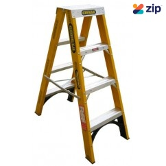 Gorilla Ladders FSM004-I Double Sided Ladder 1200mm 150kg Rated Fibreglass Step Ladders