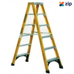Gorilla Ladders FSM006-I Double Sided Ladder 1800mm 150kg Rated Fibreglass Step Ladders