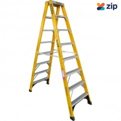 Gorilla Ladders FSM008-I Double Sided Step Ladder 2400mm 150kg Rated Fibreglass