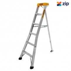 Gorilla Ladders GL006-I - 1.8m 150Kg Industrial Aluminium Garden Ladder