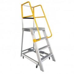 Gorilla Ladders GOP04 1200mm 200kg Rated Order Picking Ladder Platform Ladders & Order Pickers