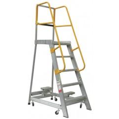 Gorilla Ladders GOP05 Order Picking Ladder 1500mm 200kg Rated Aluminium Platform Ladders & Order Pickers