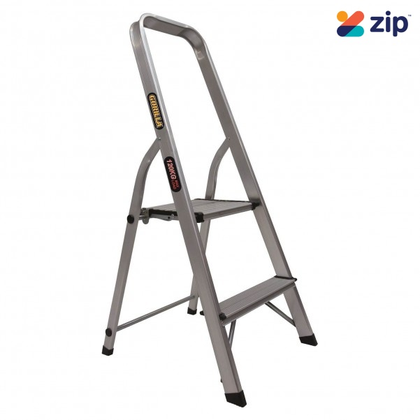 Admirable Gorilla Gor 2D Platform Step Ladder 120Kg Domestic Onthecornerstone Fun Painted Chair Ideas Images Onthecornerstoneorg