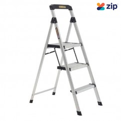 Gorilla GOR-3TT - 0.75m 120KG Domestic Aluminium Platform Step Ladder Step Ladders