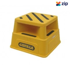 Gorilla GOR-STEP - 150kg Industrial Safety YELLOW Step Step Ladders