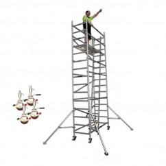 Gorilla Ladders GS-01K 3.7M - 3.7m Scaffold Core Complete Set  Scaffolding