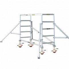 Gorilla Ladders GS-01K - Scaffold Core Pack W/- ADJ Castors