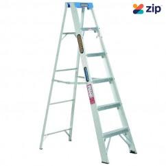 Gorilla Ladders M006-C - 1.8m 120Kg Industrial Aluminium Single Sided Step Ladder