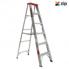 Gorilla Ladders M006-D - 1.8m 120Kg Domestic Aluminium Single Sided Step Ladder
