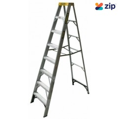 Gorilla Ladders M008-I Single Sided Ladder 2400mm 150kg Rated Aluminium Step Ladders