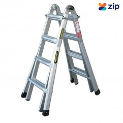 Gorilla Ladders MM15-I Multi-Purpose Ladder 1.2m4.5m Aluminium Step Ladders