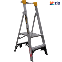 Gorilla Ladders PL002-I - 600mm 150kg Rated Aluminium Platform Ladder Platform Ladders & Order Pickers
