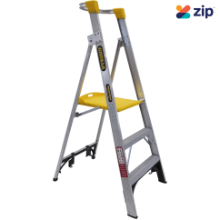 Gorilla Ladders PL003-I Platform Ladder 900mm 150kg Rated Aluminium Platform Ladders & Order Pickers