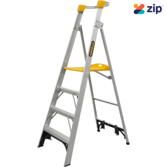 Gorilla Ladders PL004-I Platform Ladder 1200mm 150kg Rated Aluminium Platform Ladders & Order Pickers