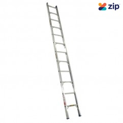 Gorilla Ladders SBL008-I Single Builder Ladder 2400mm 140kg Rated Aluminium Extension Ladders & Single Builders