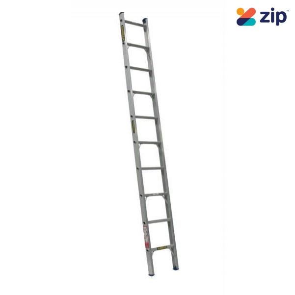 Gorilla Ladders SBL014-I Single Builder Ladder 4300mm 140kg Rated Aluminium Extension Ladders & Single Builders
