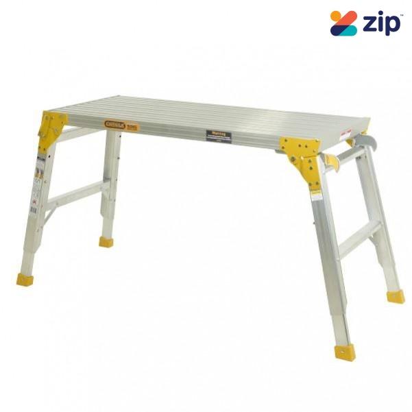 Gorilla Ladders MW105-I450WB - 450mm Wide 600-900mm Height Aluminium Work Platform Work Platforms, Trestles & Planks
