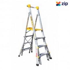 Gorilla Ladders PL0406-I - 1200-1800mm 150kg Adjustable Platform Ladder Platform Ladders & Order Pickers