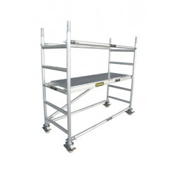 Gorilla Ladders GS-01 Scaffold Core Pack 225kg Rated Aluminium Scaffolding